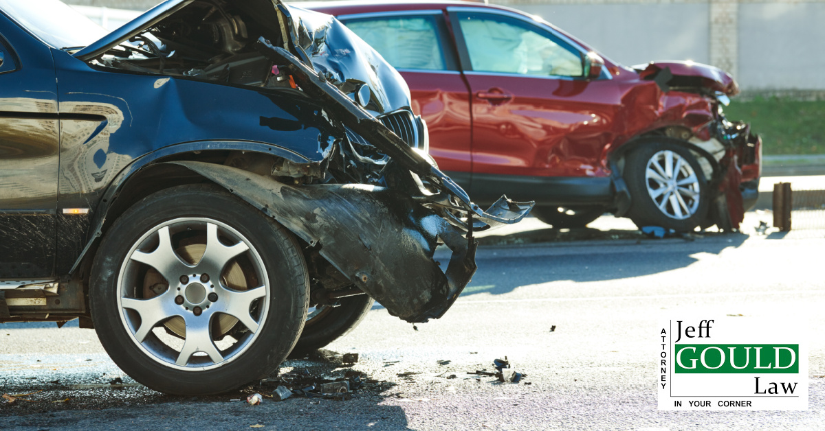 4 common car accidents